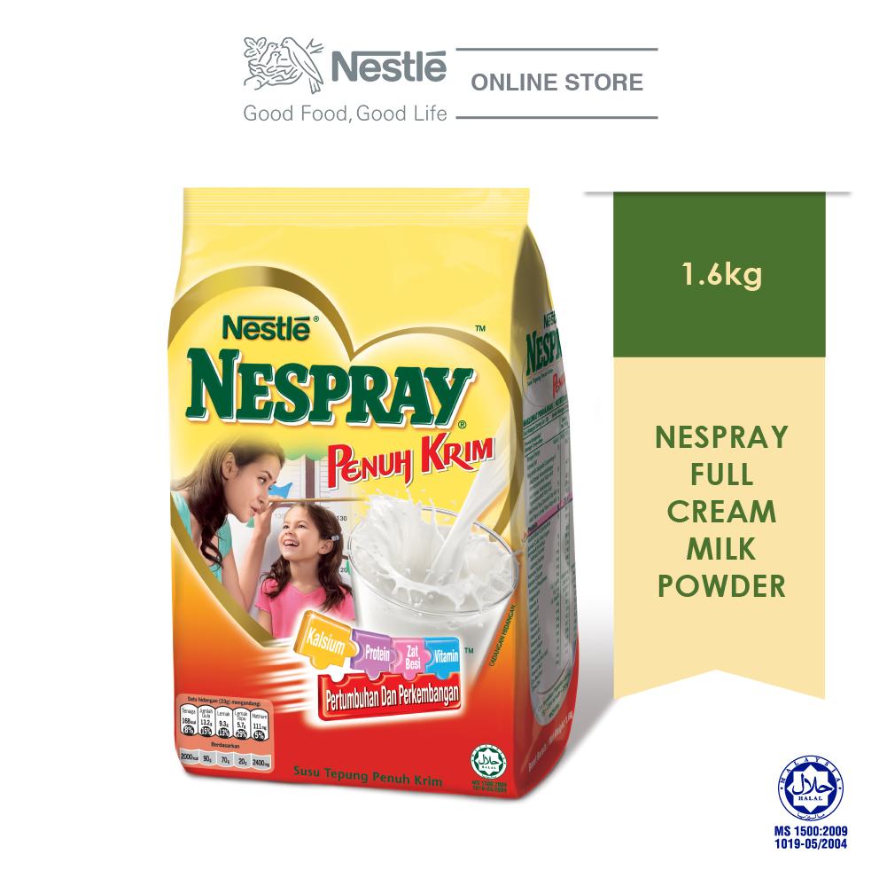 NESPRAY Full Cream Milk Powder Softpack (1.6kg)