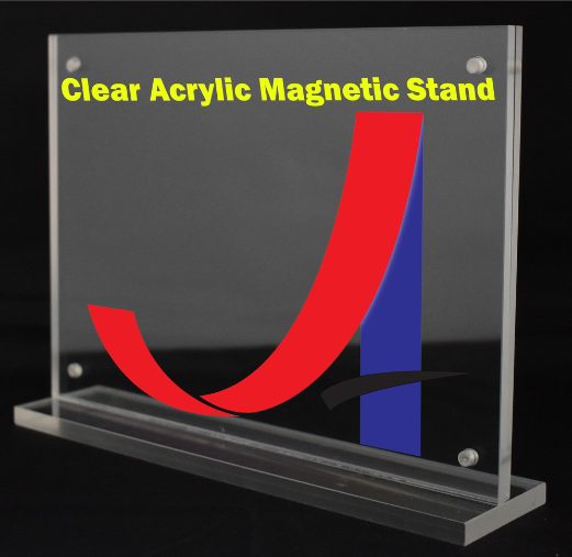 A4 Clear Acrylic Magnetic Stand (4mm+4mm)