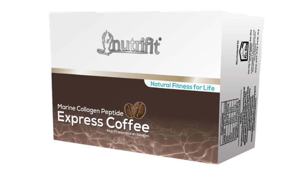 Nutrifit Marine Collagen Peptide Express Coffee(20g x 15 Sachets)