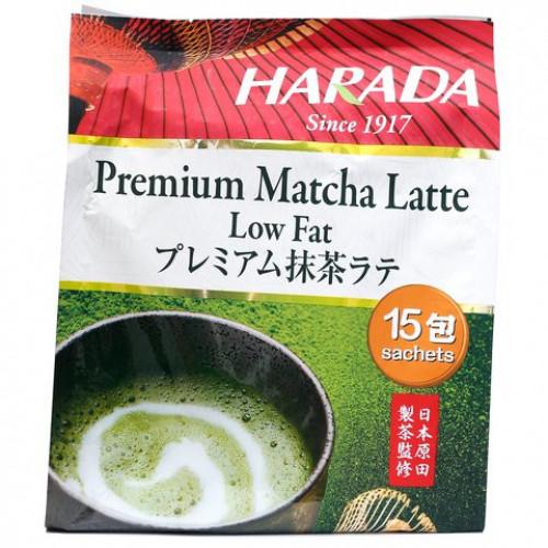 Harada Premium Matcha Latte Low Fat 20g x 15sachets