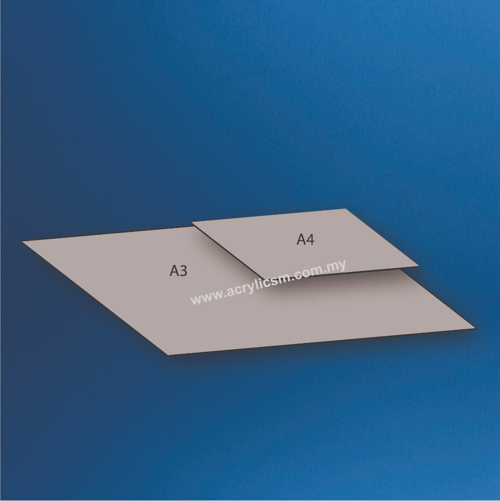 ALUMINUM COMPOSITE PANEL ACP WHITE THK:3MM