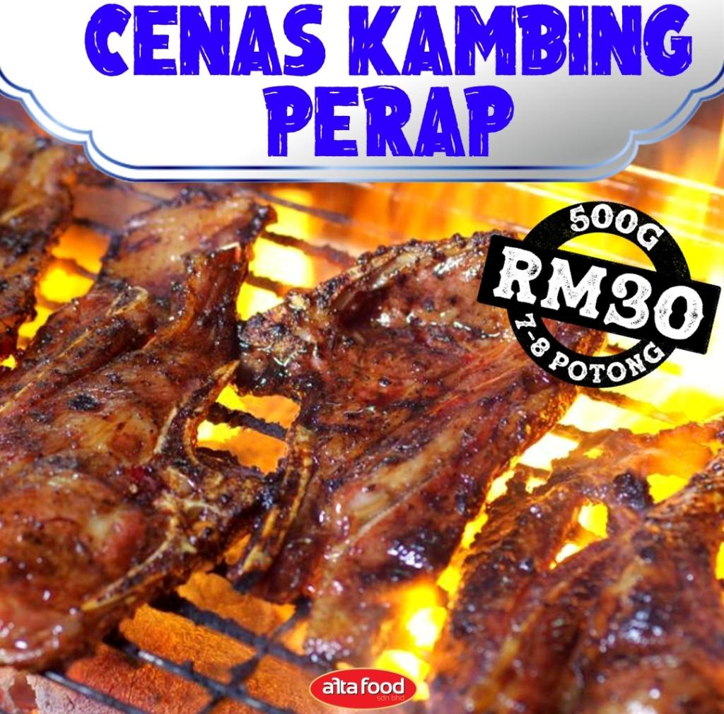 Cenas Kambing Perap- 500g | 7-8 pieces