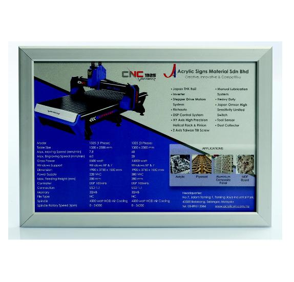 Aluminum Snap Poster Frame
