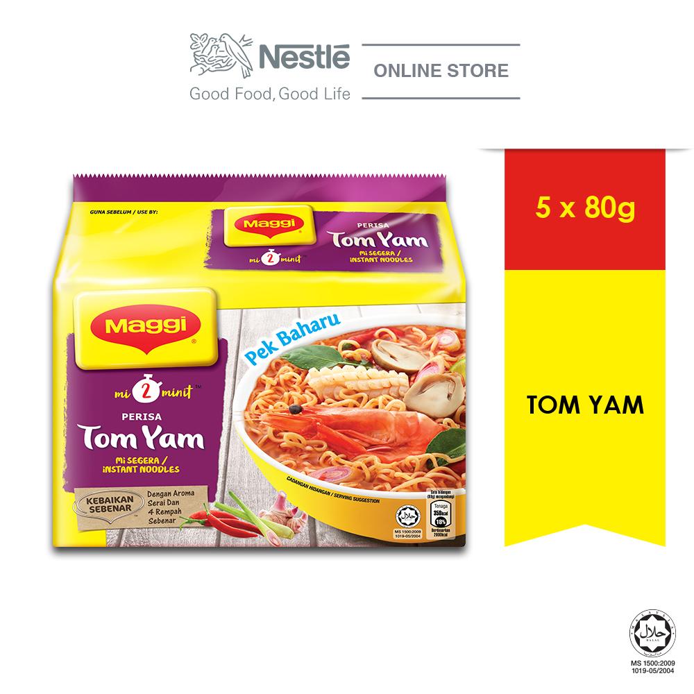 MAGGI 2-MINN Tom Yam 5 Packs 83g