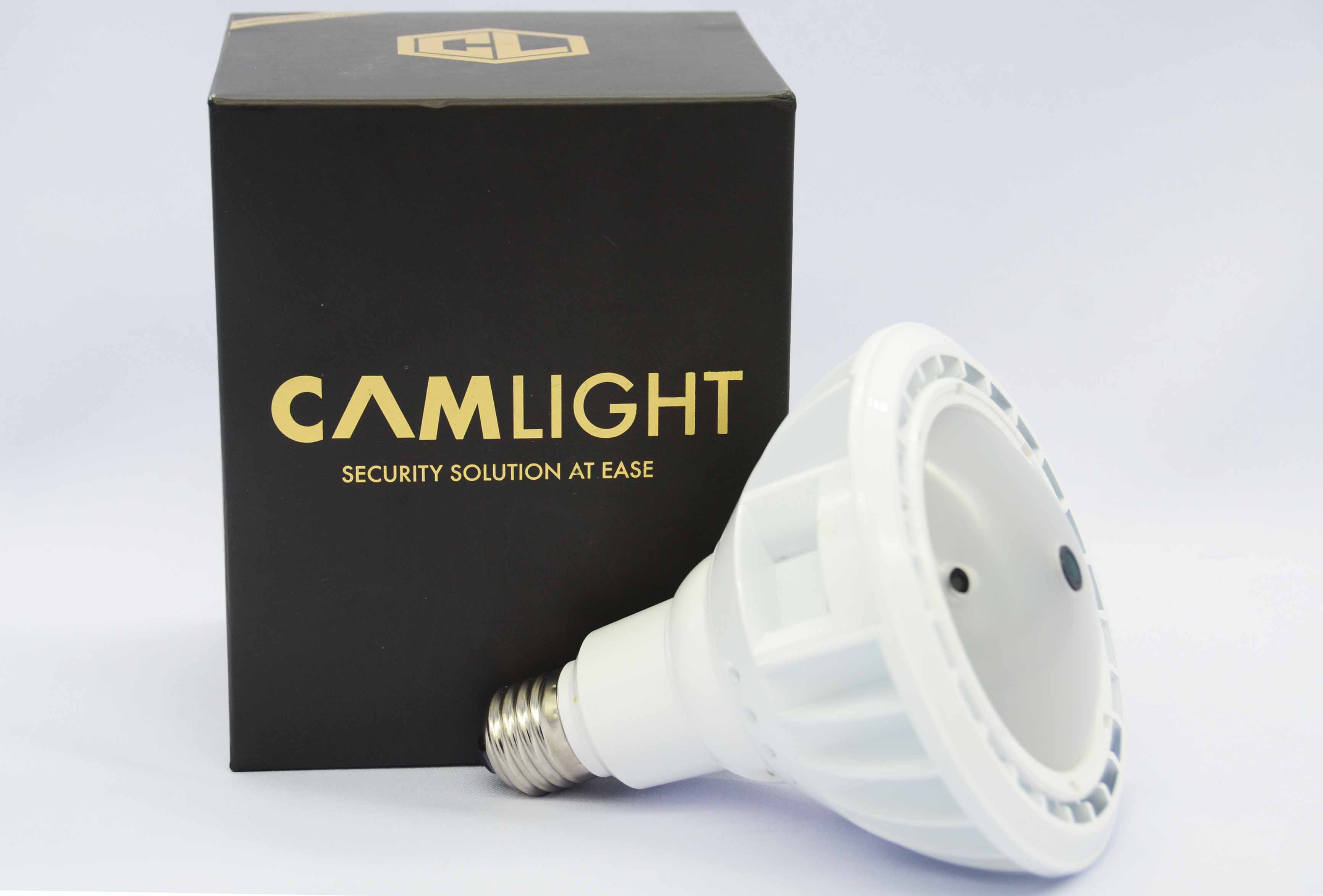 Camlight home security system