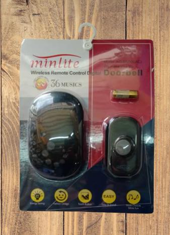 Minlite Wireless Remote Control  Digital Door Bell