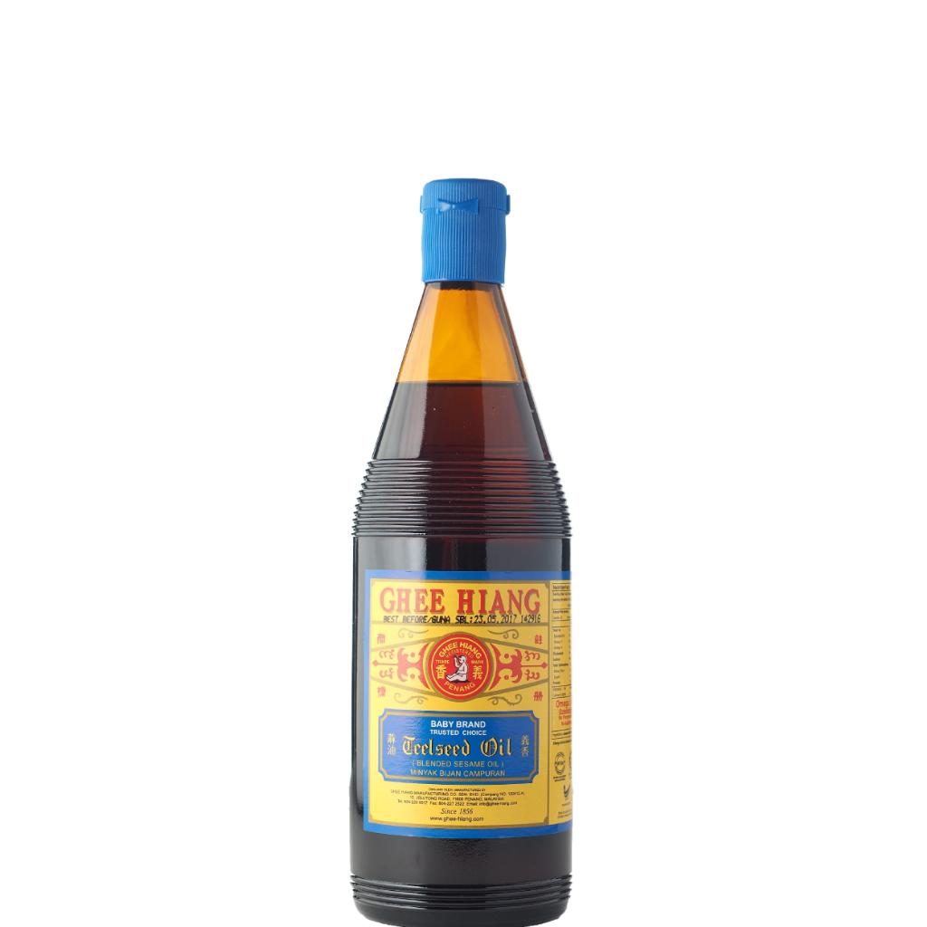 Ghee Hiang Blended Sesame Oil (Blue Label) 680ml