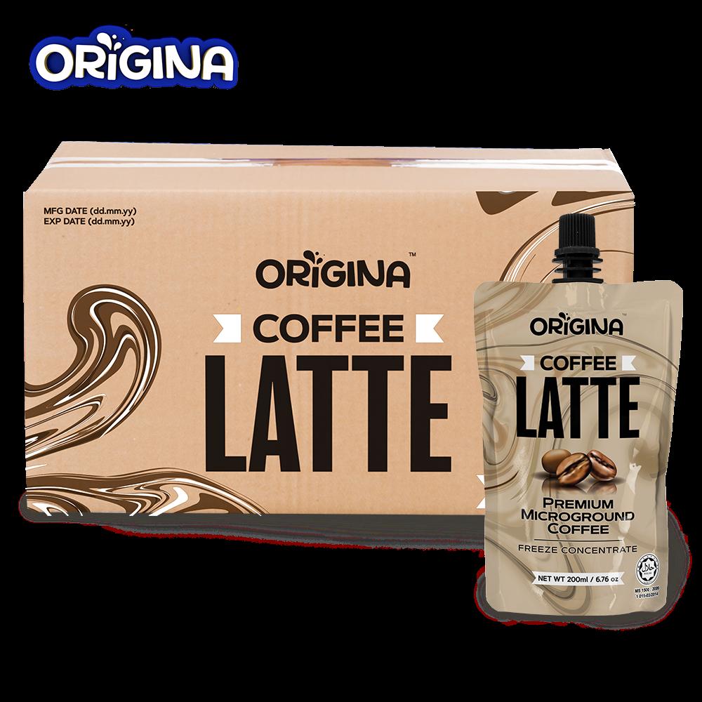 ORIGINA COFFEE LATTE 200ML 25 PCS/ CTN