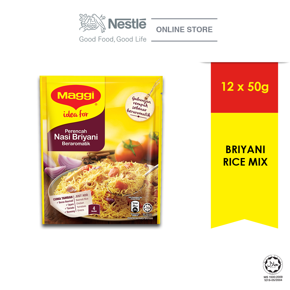 MAGGI Nasi Briyani Recipe Mix 50g