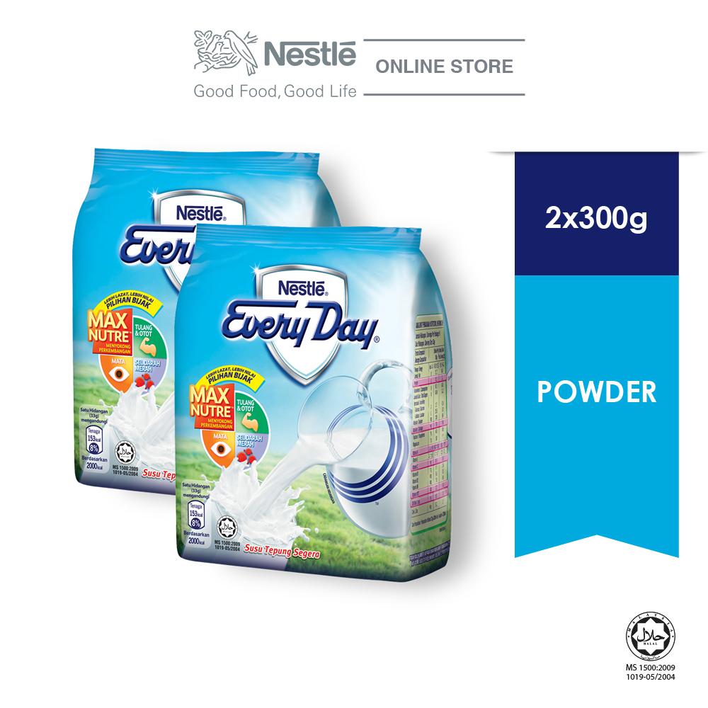 NESTLE EVERYDAY Milk Powder Soft Pack 300g x2 packs