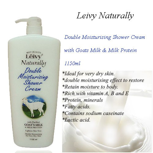 Leivy Naturally Shower Cream - Goat
