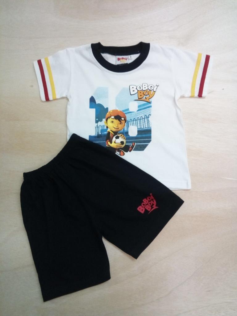 Original BoBoiBoy Football Character Boy Suit Set 100%Cotton (BBS 116)