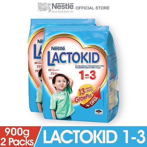 LACTOKID 1-3 without Probiotics Soft Pack (900g x 2 packs)