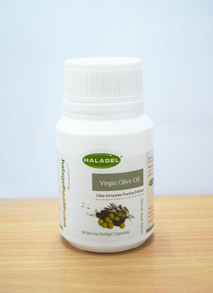 Virgin Olive Oil in 60 softgel