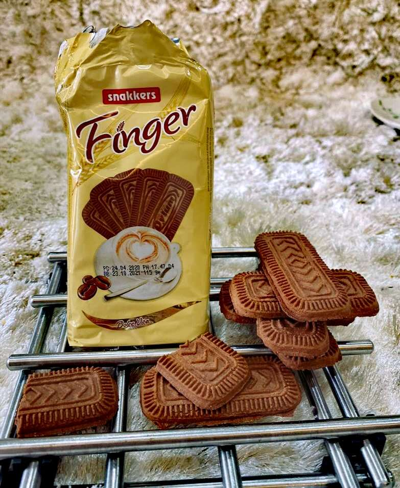 Oylum Finger biscuit with Cacao 115g (24 packs)
