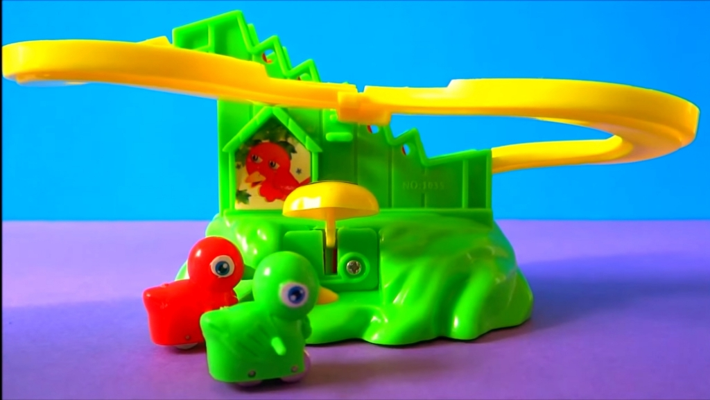 Toy Bird Stairs Slide