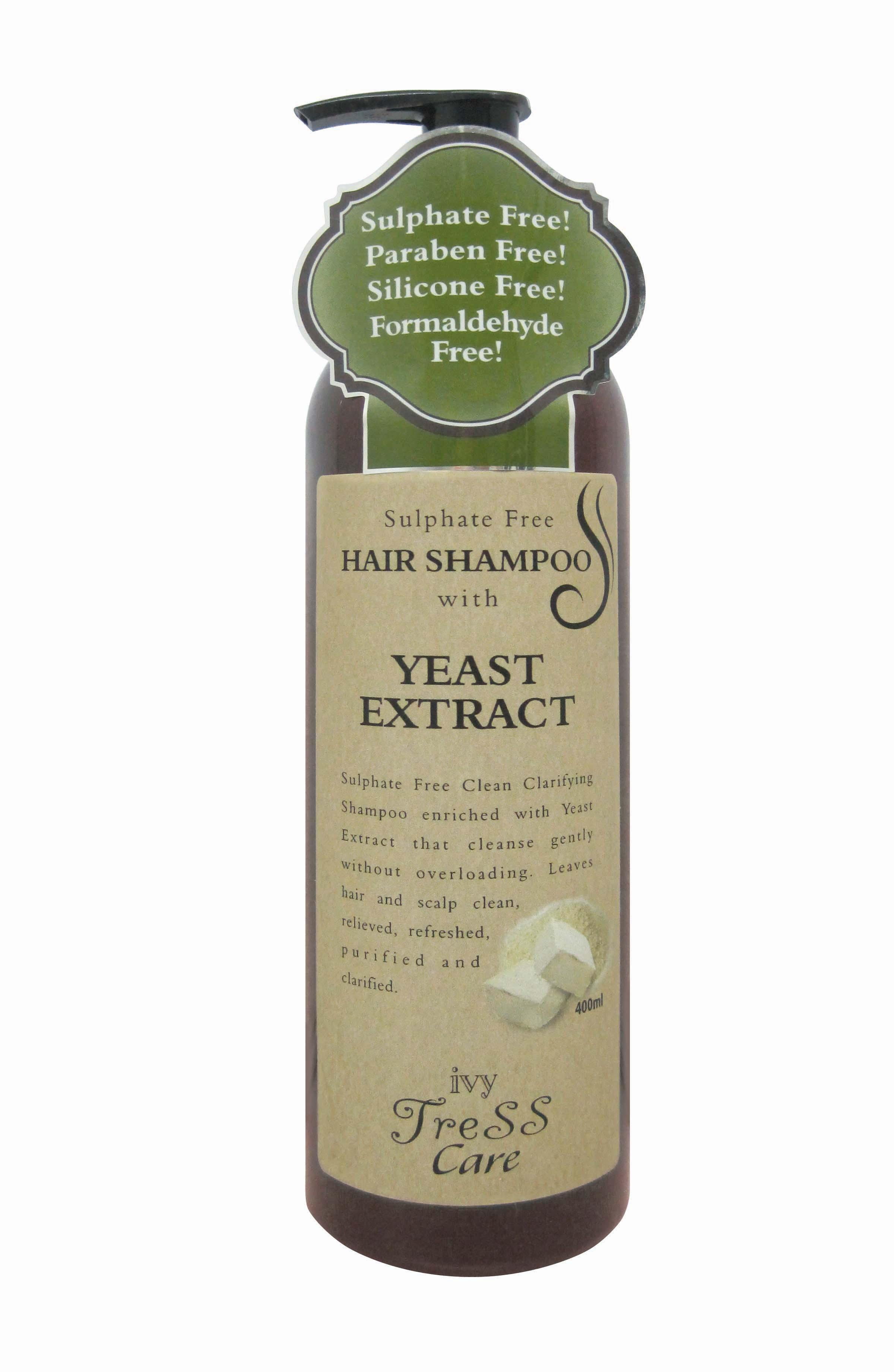 Ivy Tress Care Hair Shampoo with Yeast Extract (400ml)