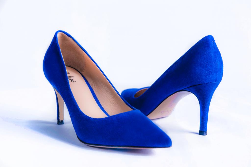 Sulise Heels Royal Blue