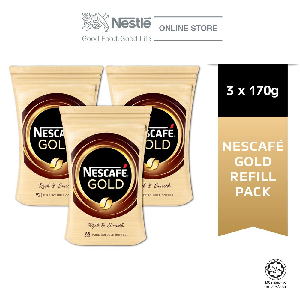 NESCAFE GOLD Refill 170g x3 packs