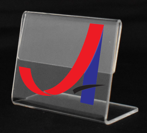 Acrylic Name Card/ Price Tag/ Label Tag Display Holder Stand (90mmX60mm)