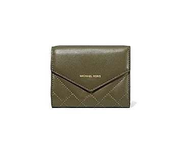 Michael Kors Quilted Leather Envelope Wallet
