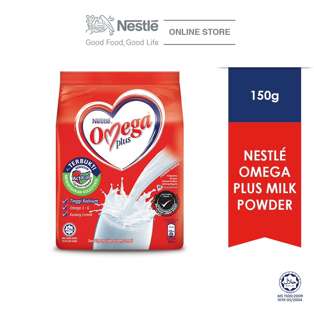 NESTLE OMEGA PLUS Milk Powder Softpack (150g)