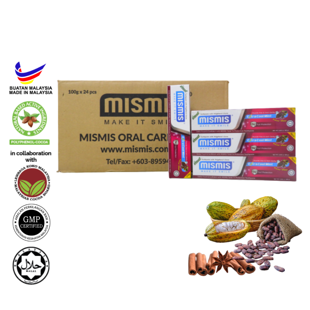 Wholesale - Mismis Extra Cool Mint Natural Toothpaste (85g)