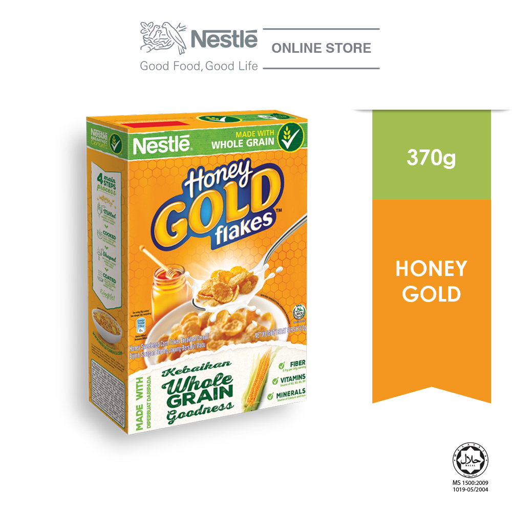 HONEY GOLD Cereal Large Box 370g