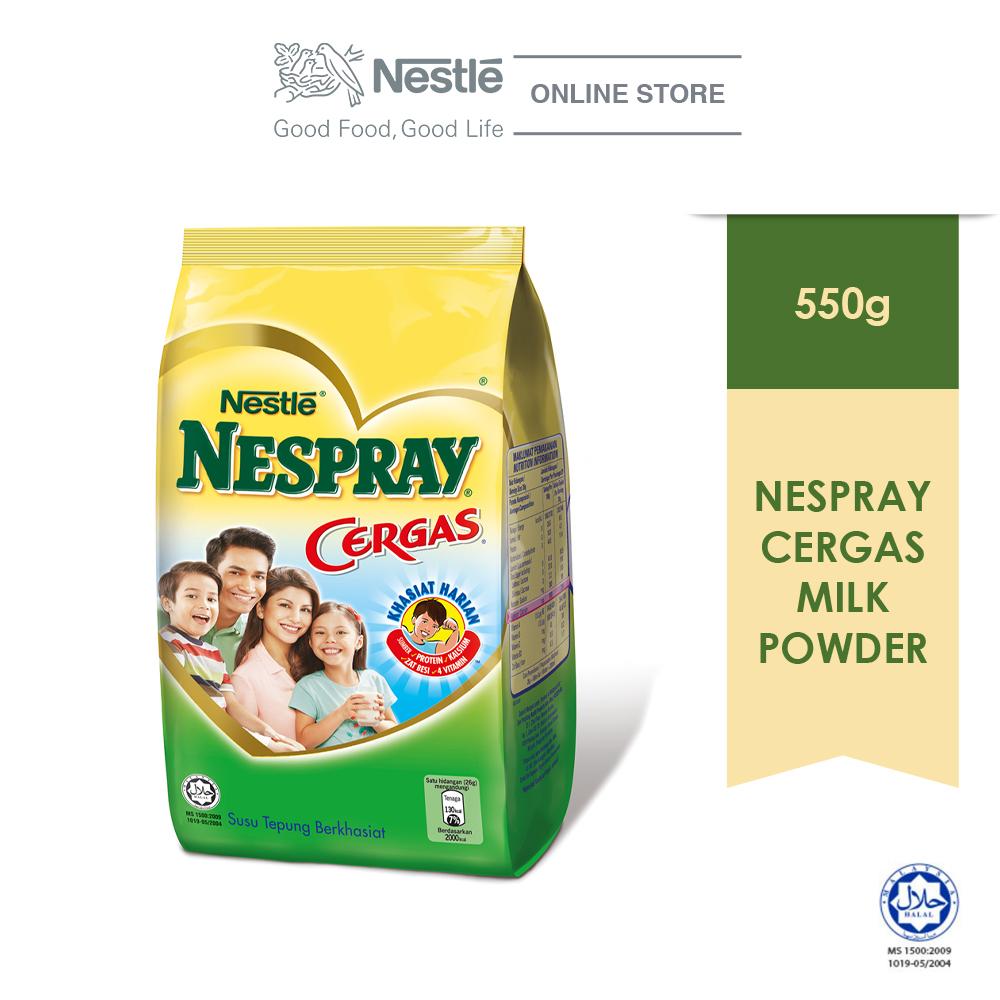 NESPRAY CERGAS Milk Powder Softpack (550g)