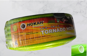 Hokah Premium Tornado Garden Hose Reinforced Garden Hose  25M