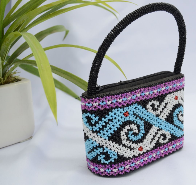 Sarawak Traditional handmade bead bag (unique with limited edition)