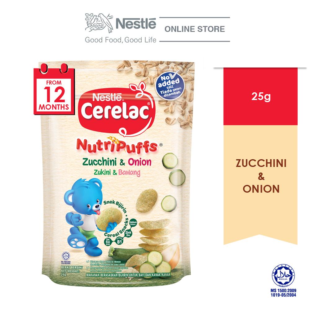 NESTLE CERELAC Nutri Zucchini 25g