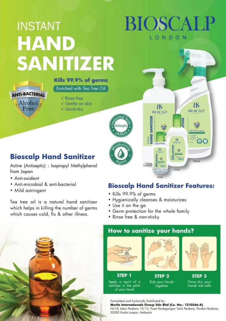 INSTANT HAND SANITIZER (1Litre)