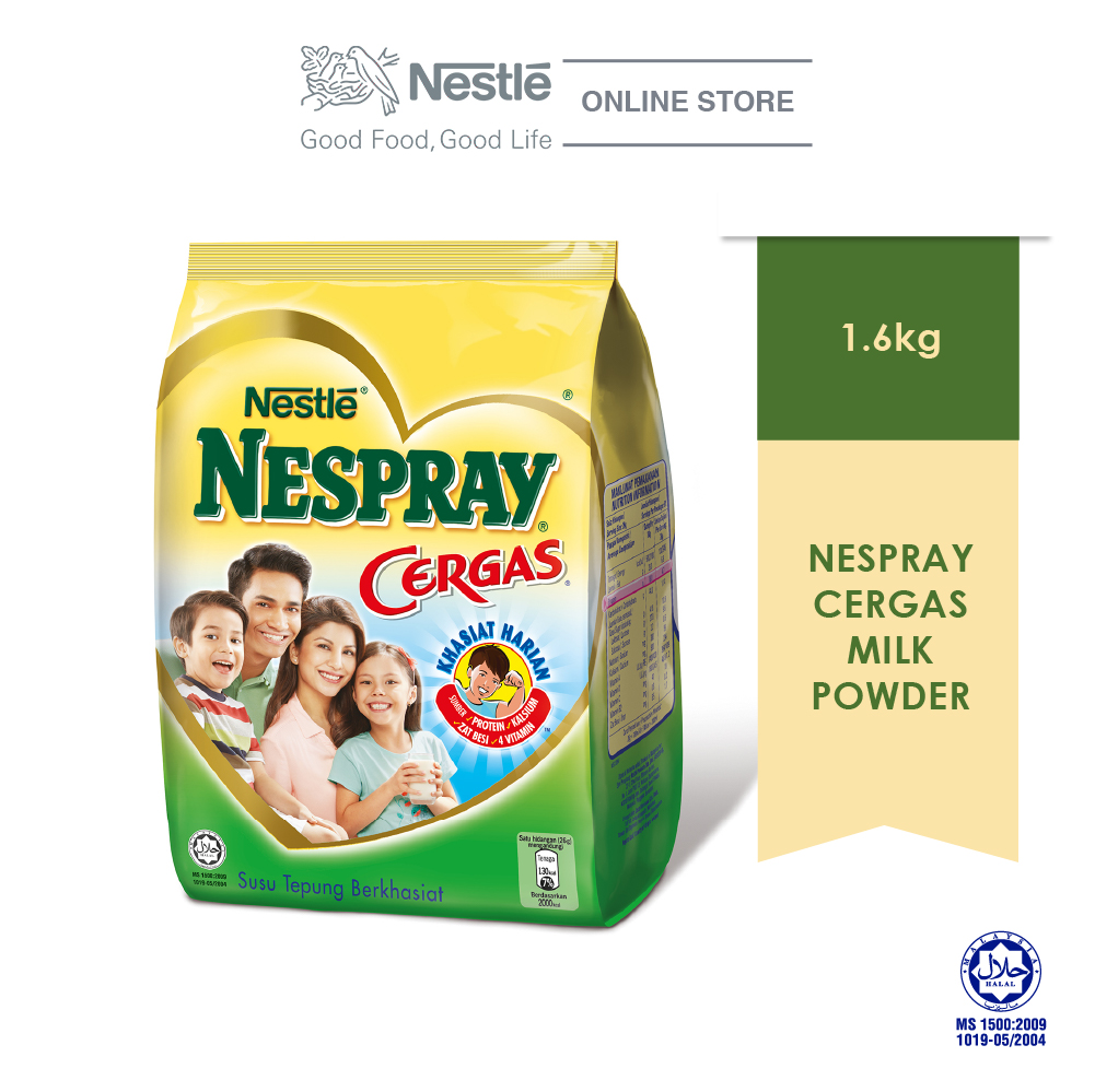 NESPRAY CERGAS Milk Powder Softpack (1.6kg)