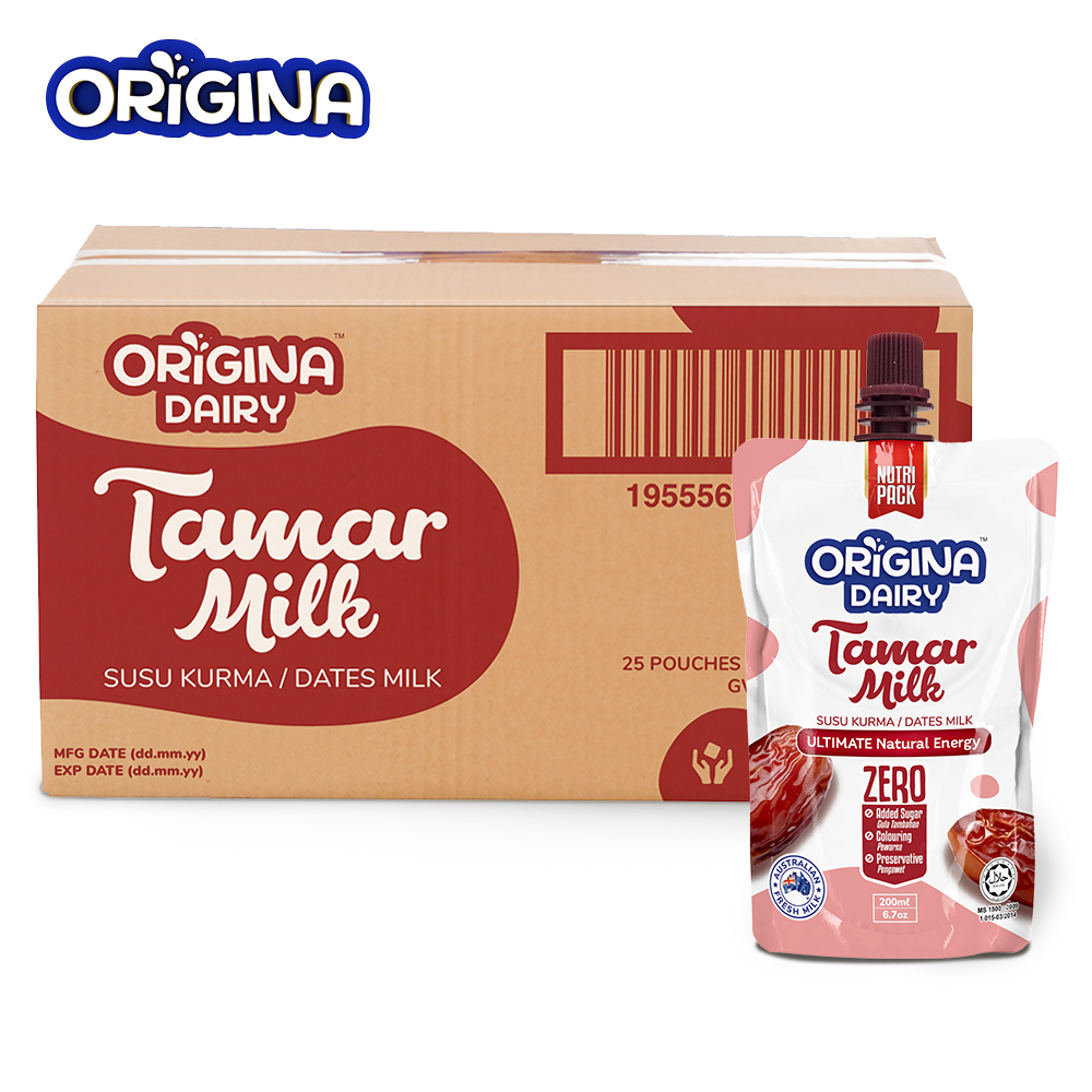 ORIGINA TAMAR MILK 200ML (25 PCS/ CTN)