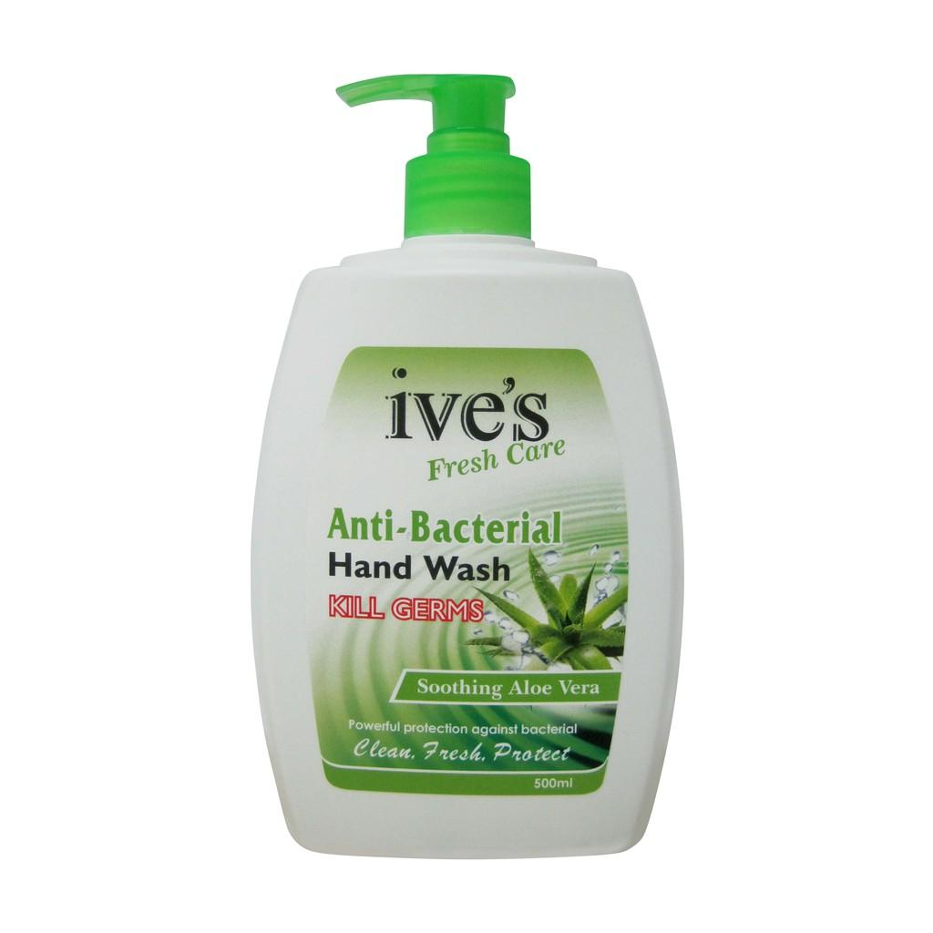 Ive's Fresh Care Anti-Bacterial Hand Wash - Soothing Aloe Vera (500ml)