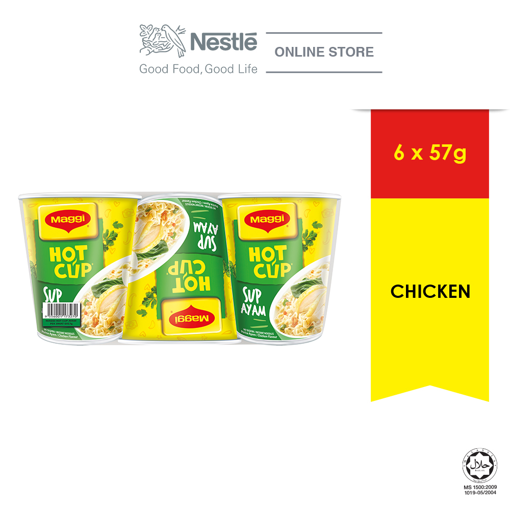 MAGGI Hot Cup Chicken 6 Cups 58g
