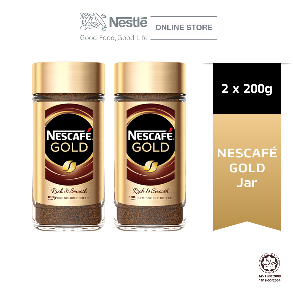 Nescafe Signature Gold Jar 200g, Bundle of 2