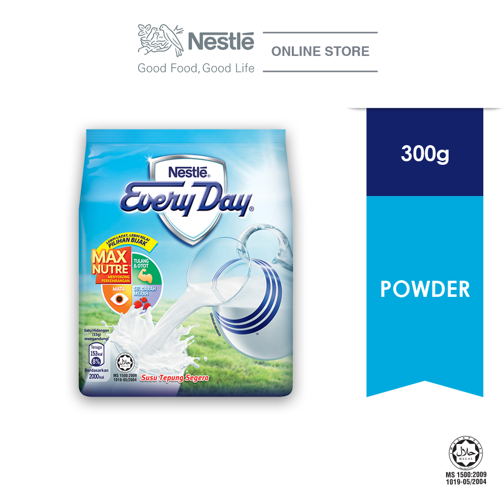 NESTLE EVERYDAY Milk Powder Soft Pack 300g