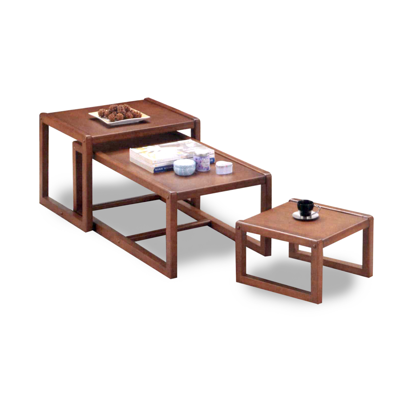 Nesting Table 15-522 Walnut (set of 3)