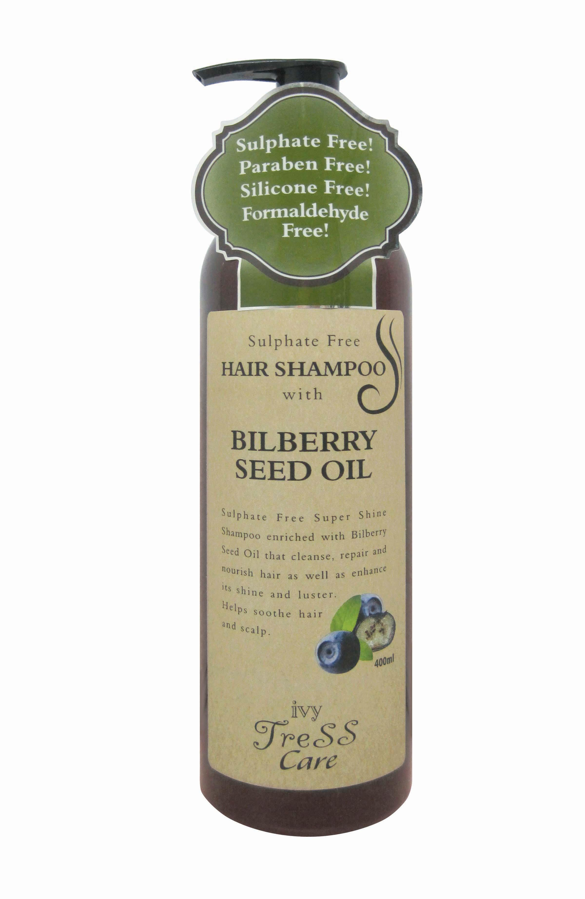 Ivy Tress Care Hair Shampoo with Bilberry seed oil (400ml)
