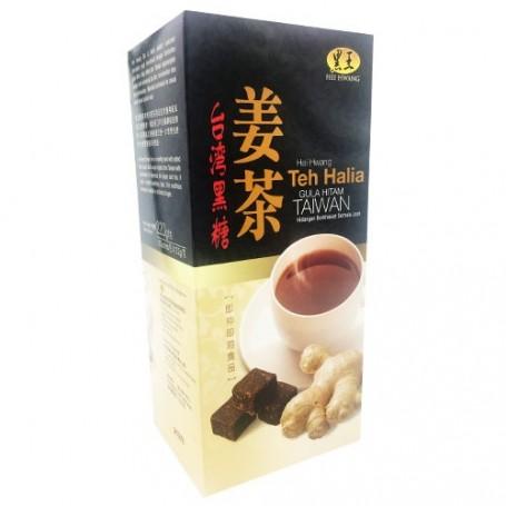 Hei Hwang Taiwan Black Sugar Ginger Tea Gula Hitam Teh Halia 22g x 10
