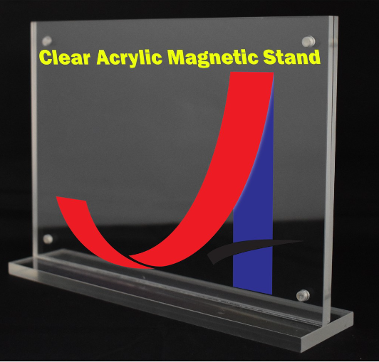 A6 Clear Acrylic Magnetic Stand (4mm+4mm)