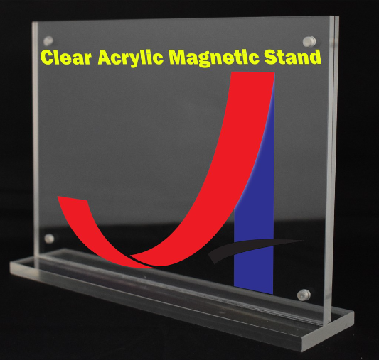 A5 Acrylic Clear Magnetic Stand (4mm+4mm)