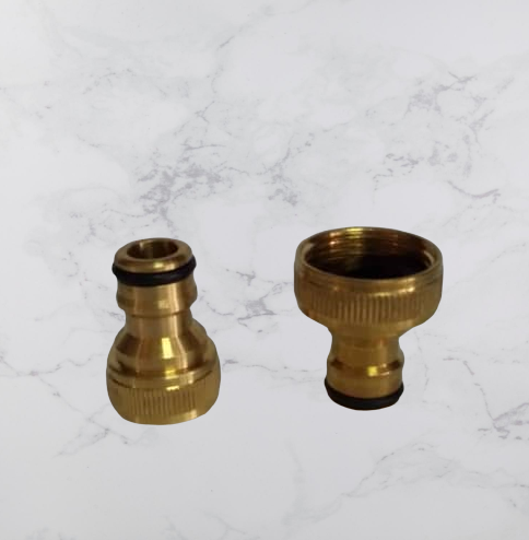 Thread Connector Hose Tap Nozzle Washing Machine Garden Adapter Brass