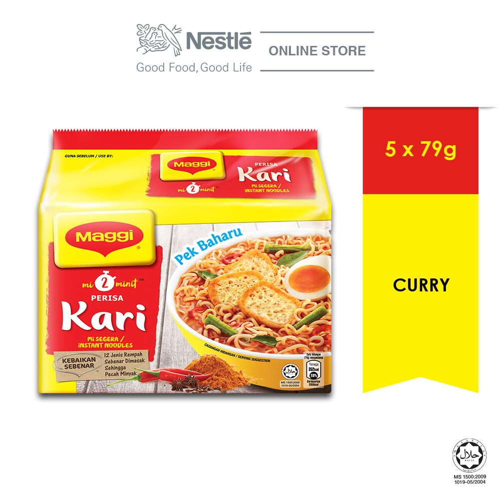 MAGGI 2-MINN Curry 5 Packs 79g
