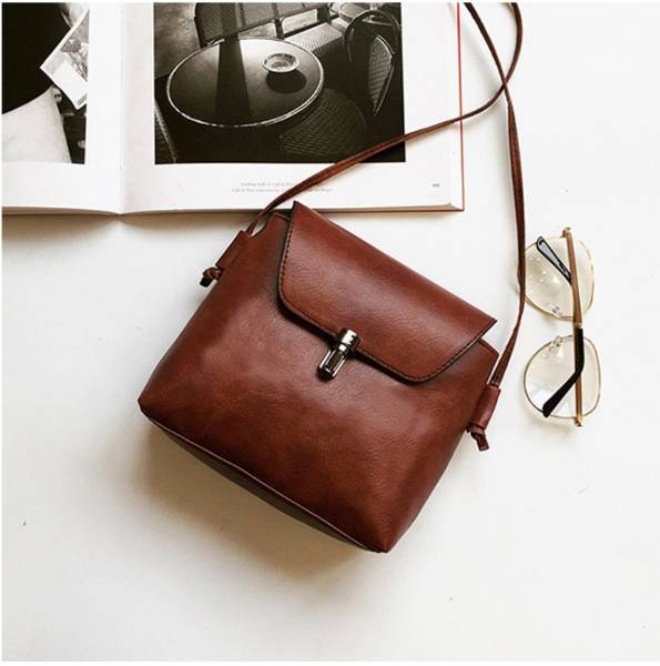 Vintage Squared Mini Shoulder Bag