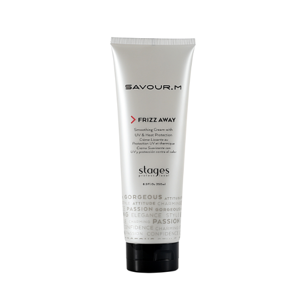 Stages Savour.M Frizz Away Smoothing Cream(8.5 fl.oz / 250 ml)