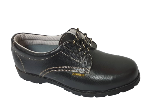 Kingsely Industrial Safety Shoes  (1633NP Black)