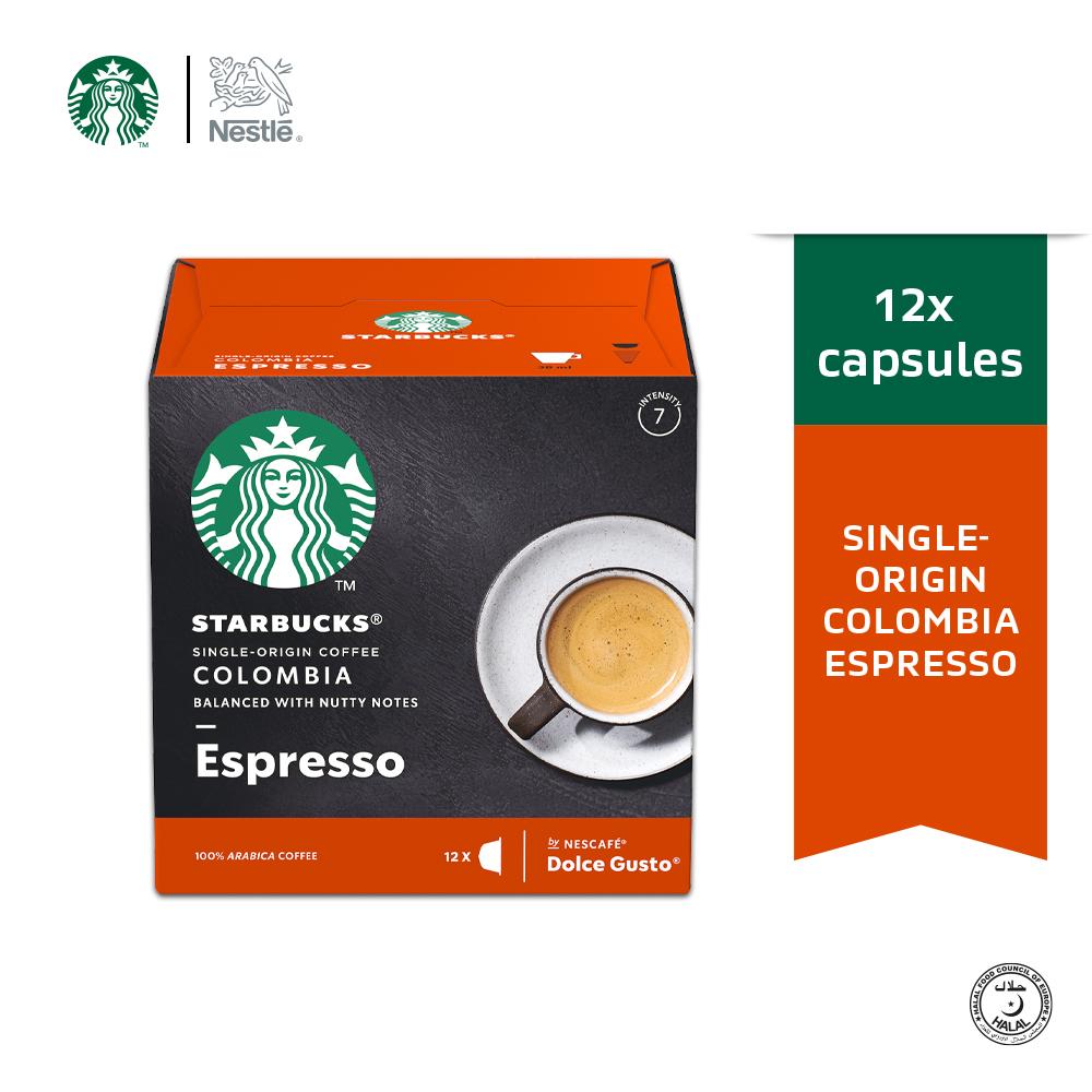 STARBUCKS Espresso Colombia 12 Cap 66g